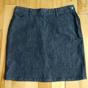 BANANA REPUBLIC Stretch Denim Skirt